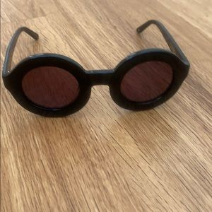 Wildfox twiggy sunglasses new round trendy grunge